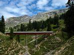 Auf dem Weg zum Strudelkopf (Sextner Dolomiten)