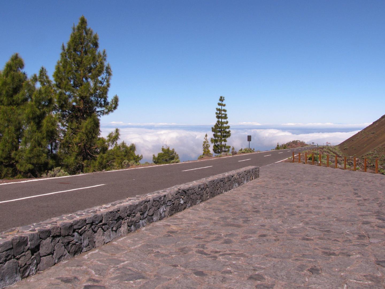 Auf dem Weg zum Teide-Nationalpark