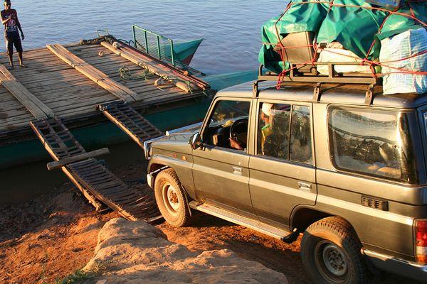 Auf dem Weg zum Tsingy de Bemaraha