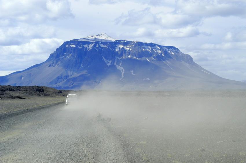 auf dem Weg zur Herdoubreid / Island