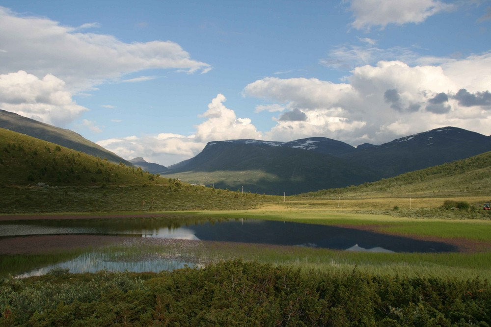 Auf dem Weg zur Juvasshytta! (Norwegen)