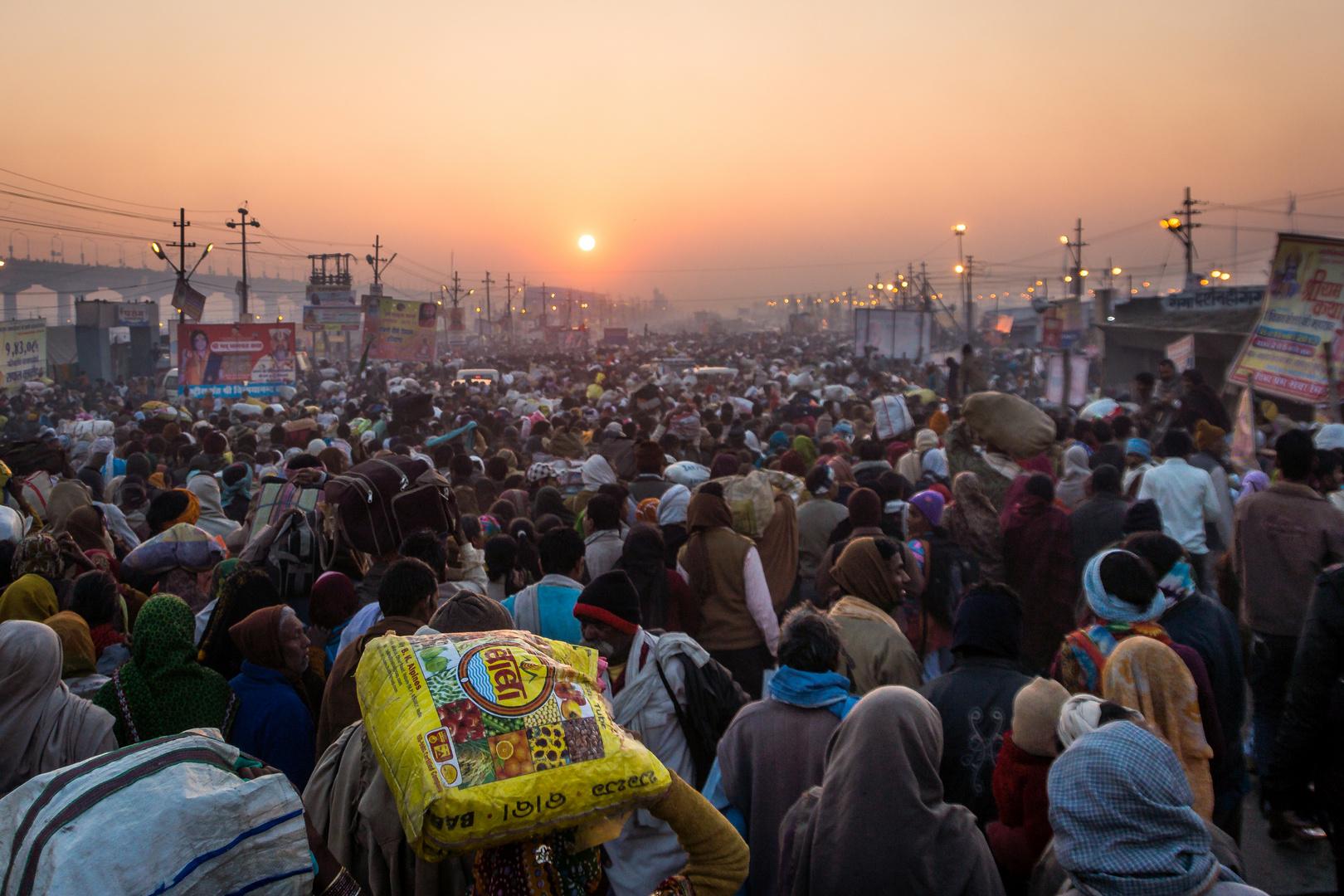 Auf dem Weg zur Kumbh Mela 2013