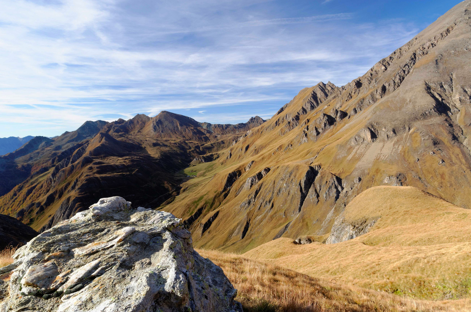 Auf dem weg zur Wurmaulspitze