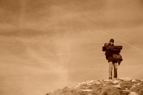 Auf dem windigen Hügel...