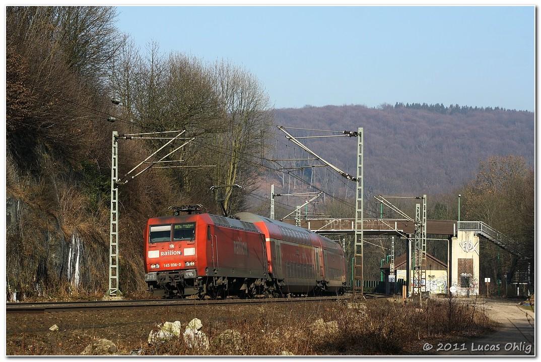 Auf dem Wupper-Express wird geTRAXXt
