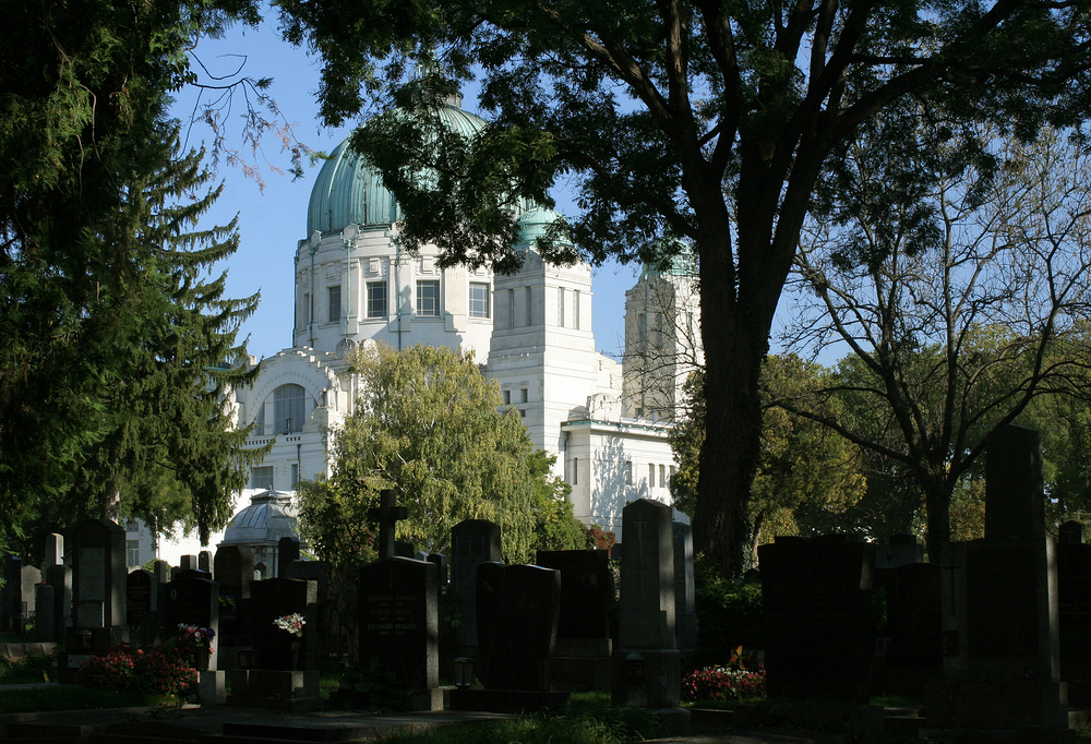 Auf dem Zentralfriedhof
