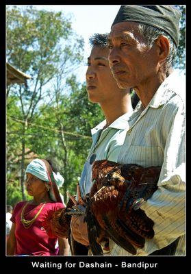 ..auf den Beginn von Dashain