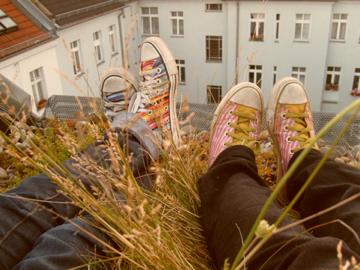 Auf den Dächern von Berlin