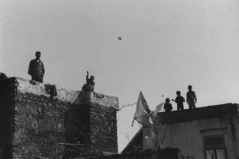 Auf den Dächern von Bundi