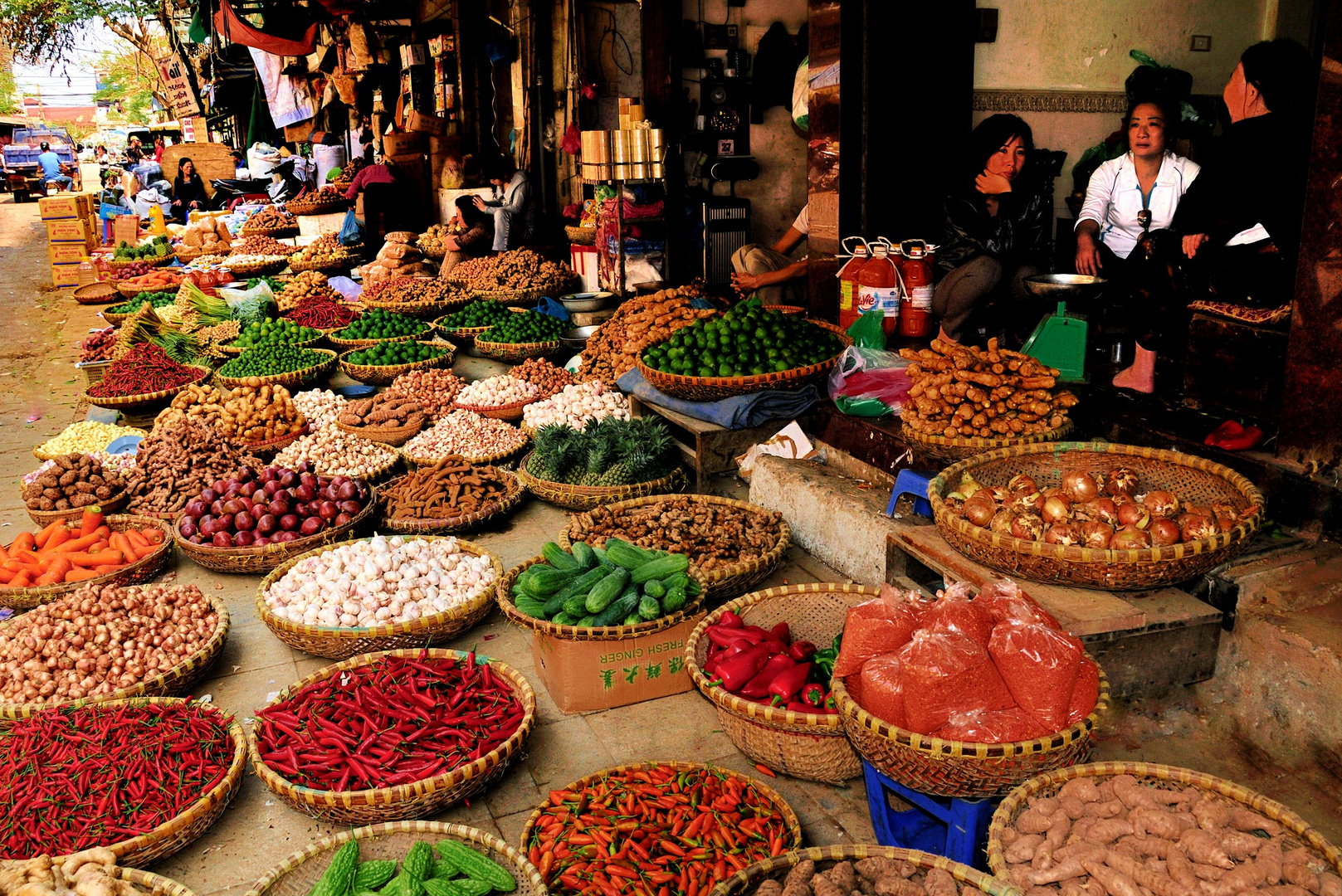 Auf den Hang-Da-Markt in der Altstadt