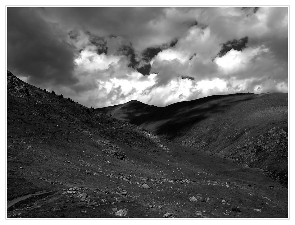 Auf den Pyrenäen