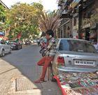 Auf den Strassen in Bombay