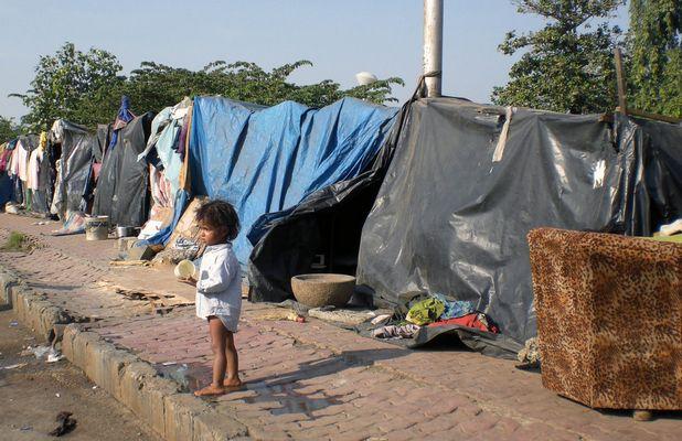 Auf den Strassen Mumbais, Oktober 2008