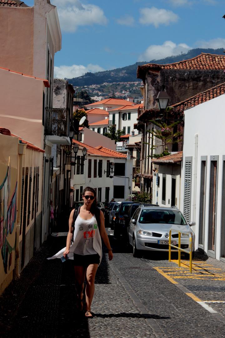 auf den Strassen von Funchal