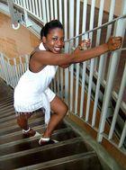 .....auf den Stufen