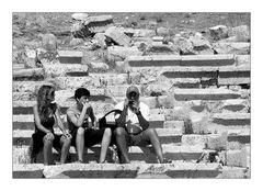 Auf den Stufen der Antike