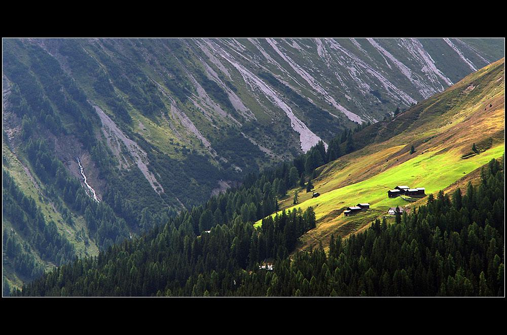 auf der Alp ...