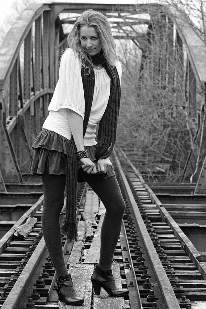Auf der alten Brücke