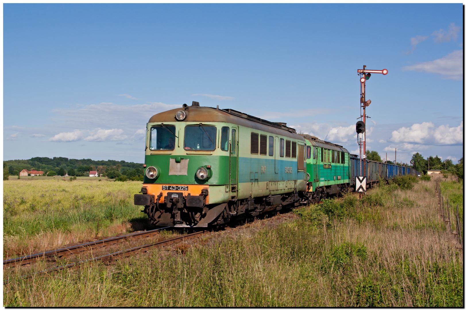 Auf der alten schlesischen Gebirgsbahn bei Jerzmanki unterwegs...