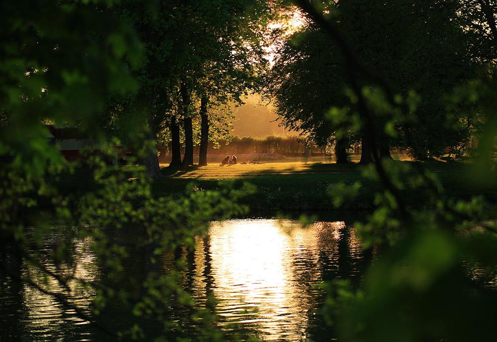 Auf der anderen Seite des Flusses