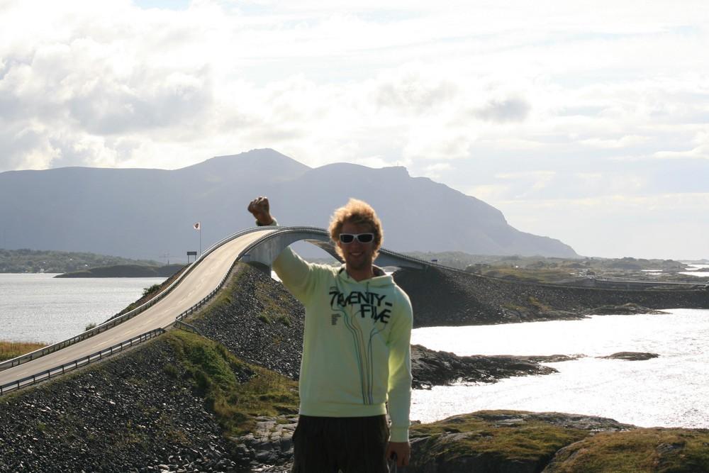 auf der Atlantikroute in Norwegen