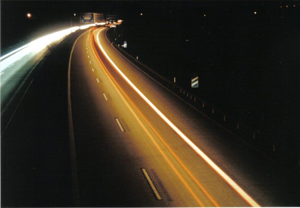 Auf der Autobahn ....
