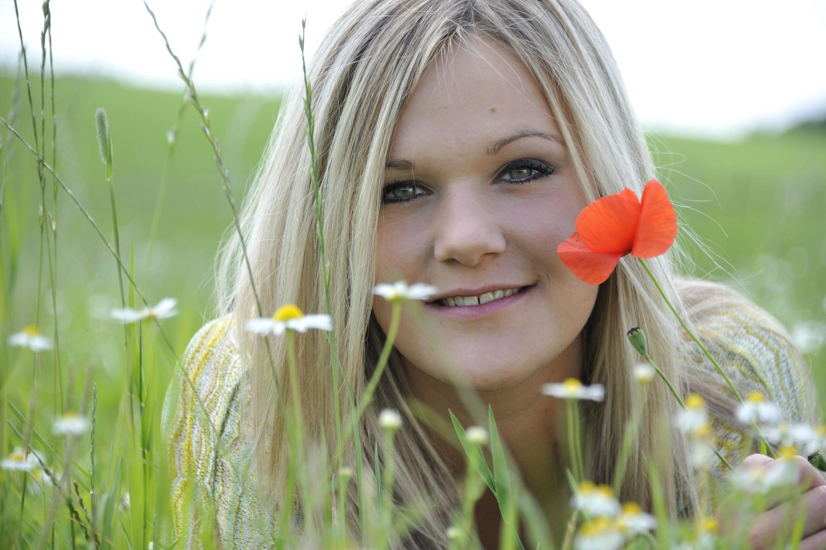 Auf der Blumenwiese