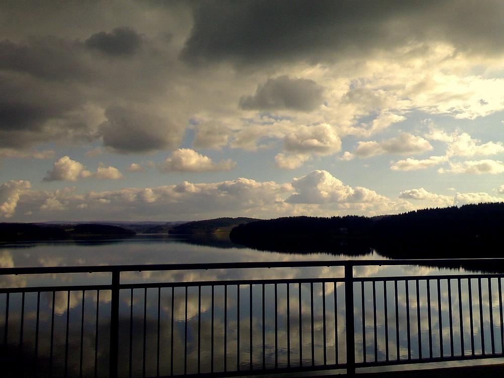 Auf der Brücke...