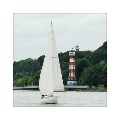 auf der Elbe...