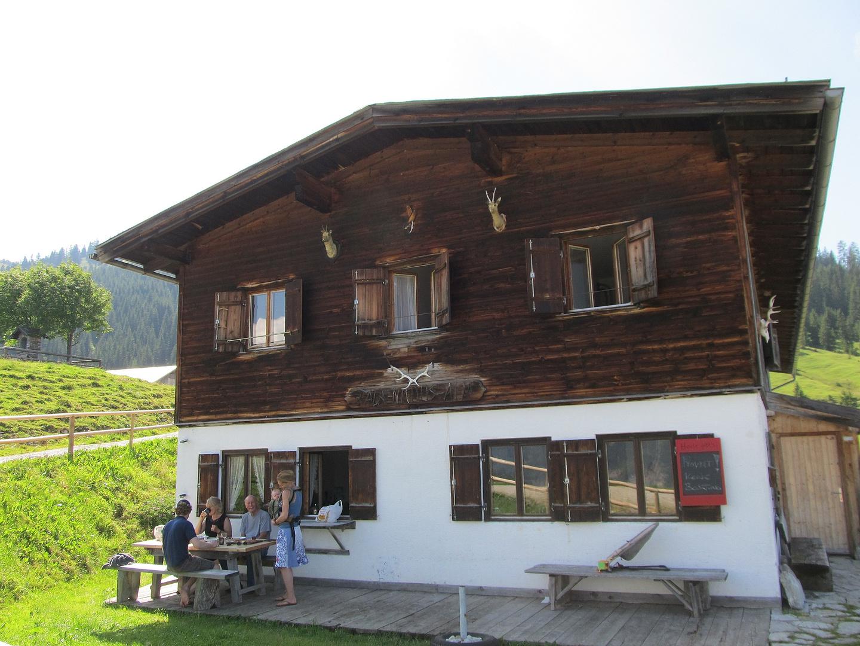 Auf der Falkenmoosalm nahe Achenkirch