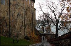 ... auf der Festung Akershus ...