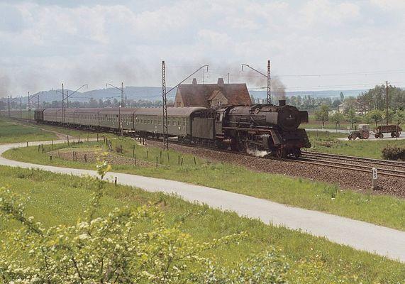 Auf der Franken Rollbahn