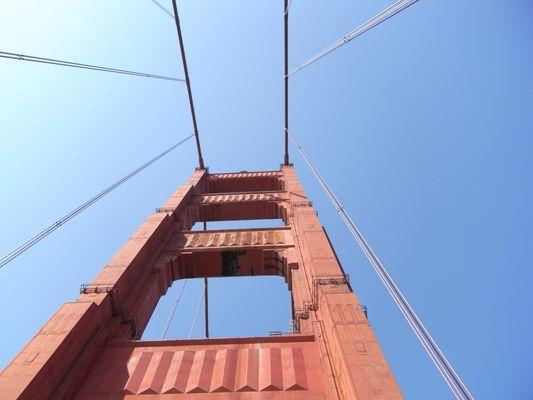 Auf der Golden Gate Bridge