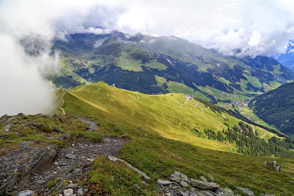 Auf der Grüblspitze in Österreich