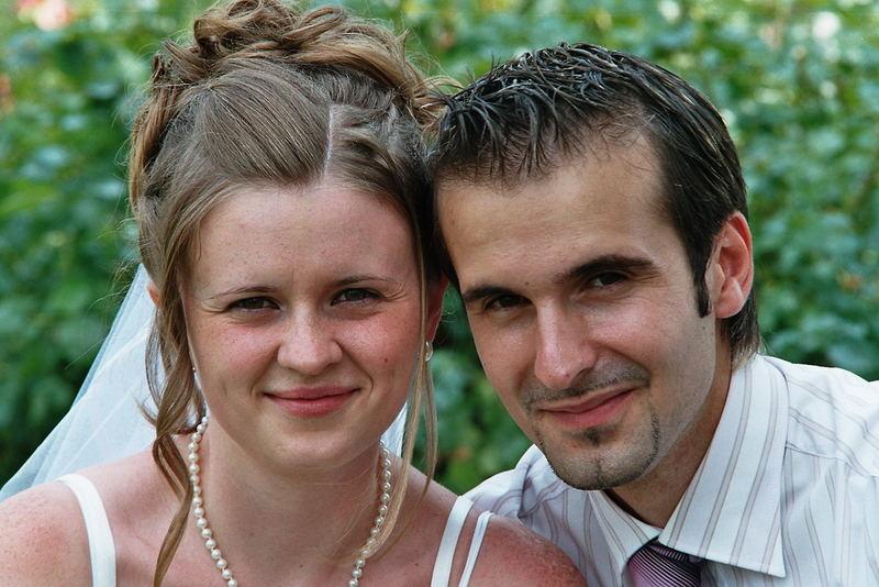Auf der Hochzeit meines Arbeitskollegen und seiner Frau ...