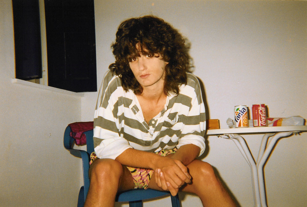 AUF DER INSEL 1990