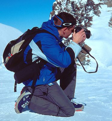 auf der jagd nach skihasen ;-)