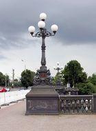 Auf der Lombardsbrücke