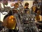 Auf der Motorrad-Ausstellung