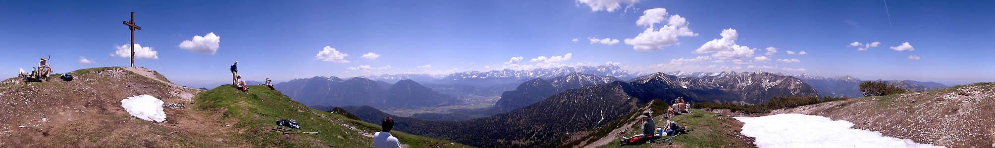 Auf der Notkarspitze (360°)