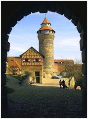 Auf der Nürnberger Kaiserburg