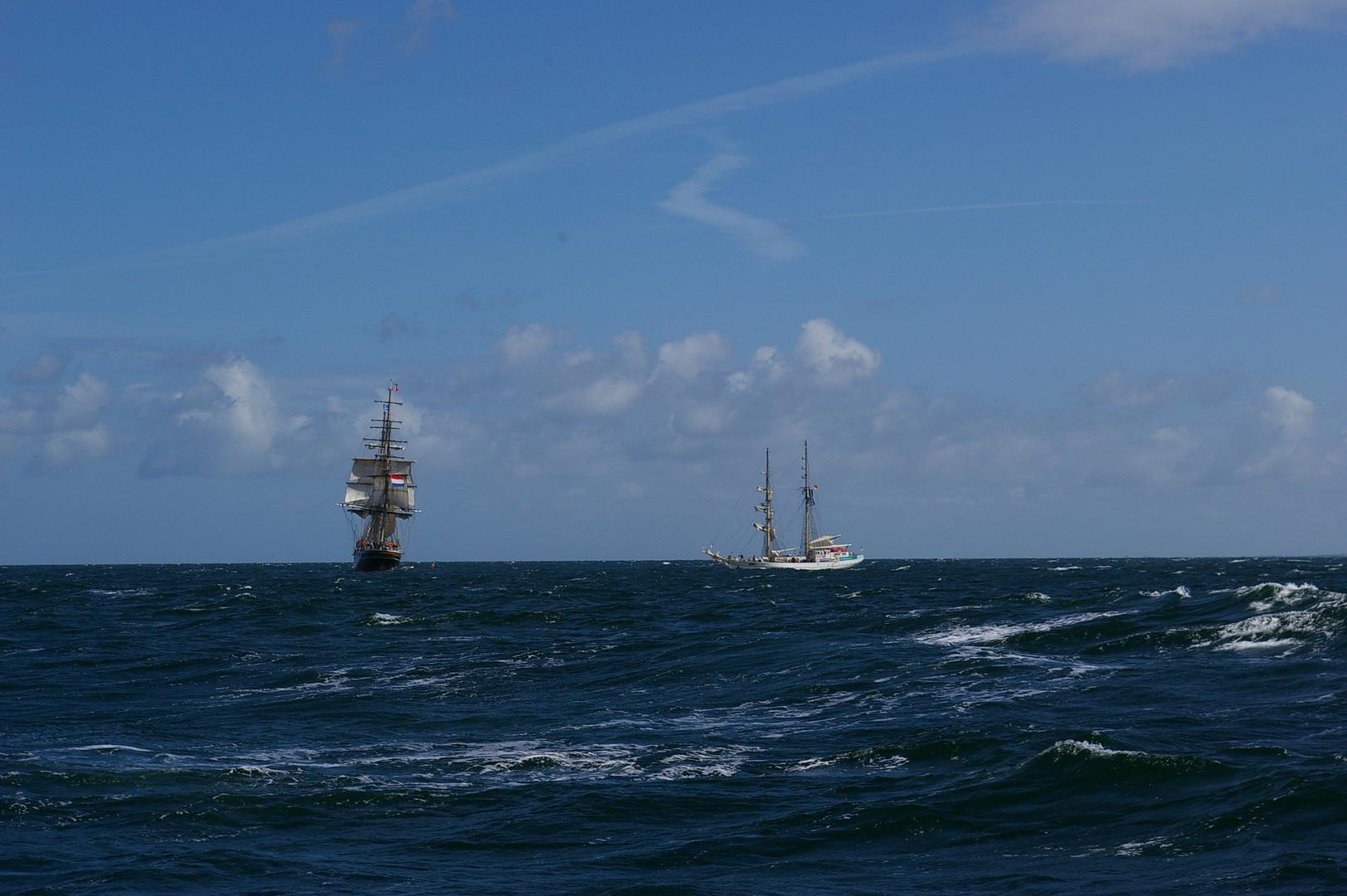 Auf der Ostsee... 2008