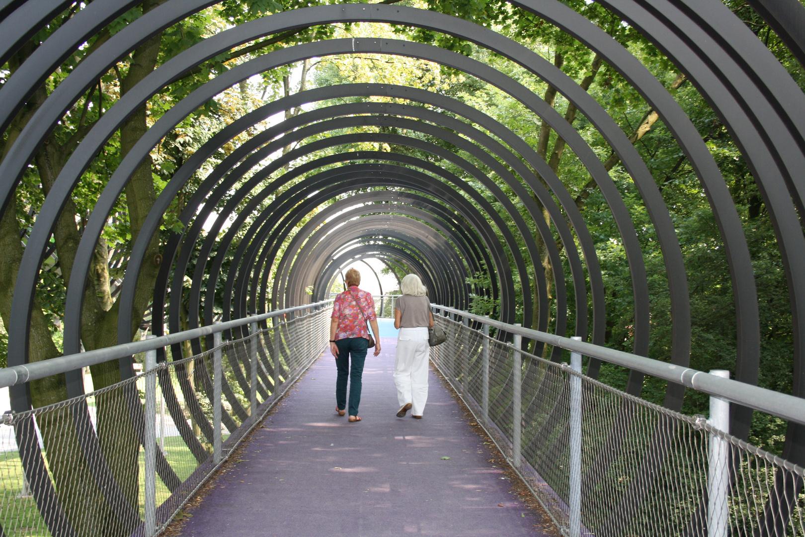 Auf der Rehberger Brücke