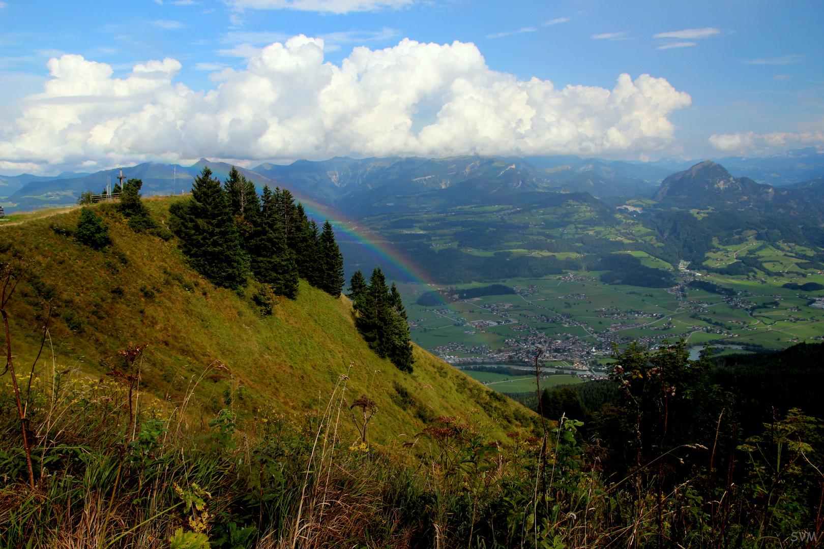 Auf der Rossfeld- Höhenringstrasse im Berchtesgadener Land