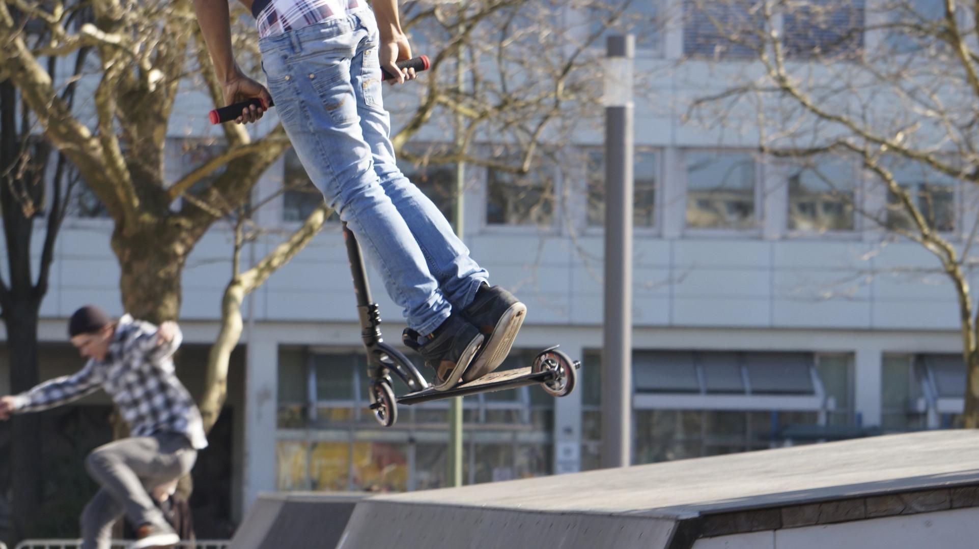 auf der Skaterbahn 3