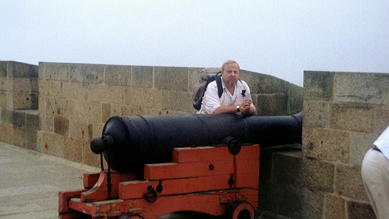 Auf der Stadtmauer von Saint Malo