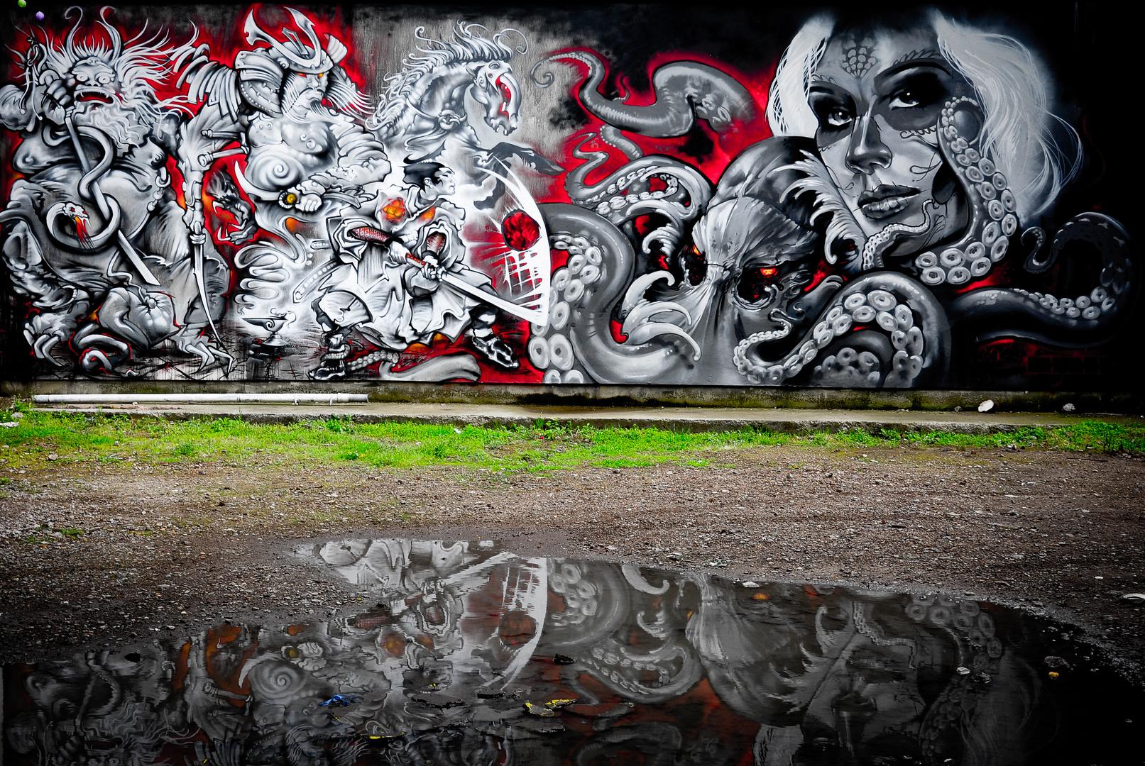 Auf der Suche nach Banksy