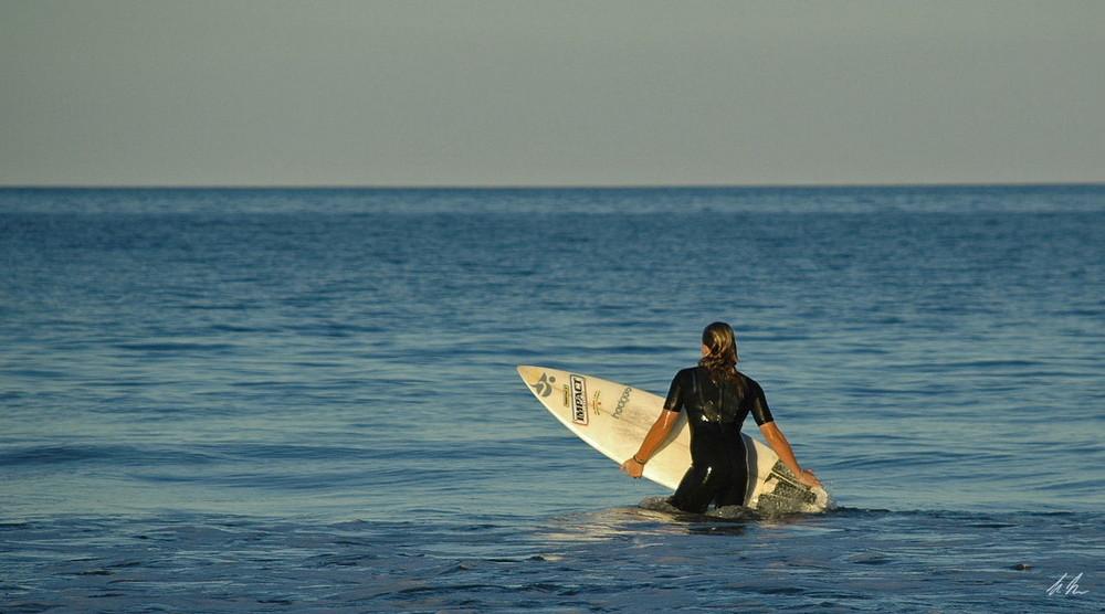 auf der Suche nach der Welle !