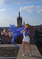 auf der Turmmauer des roten Turmes in Bad Wimpfen 4