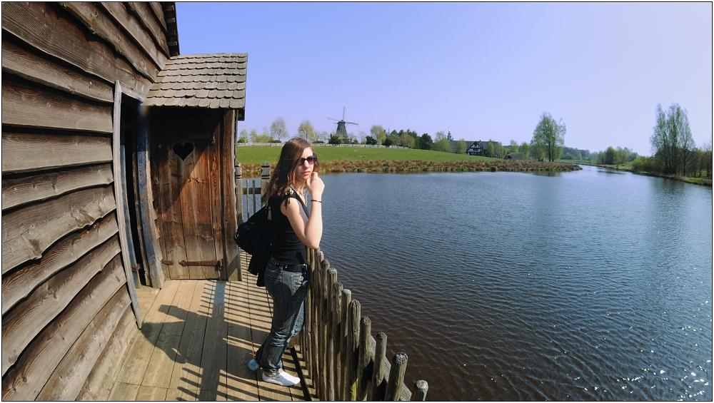 ... auf der ungarischen Donaumühle ...
